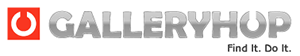 GalleryHop Logo Mobile Version
